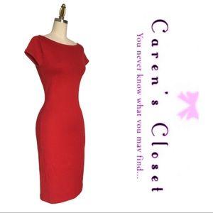 Ralph Lauren Deep Red Sweater Dress